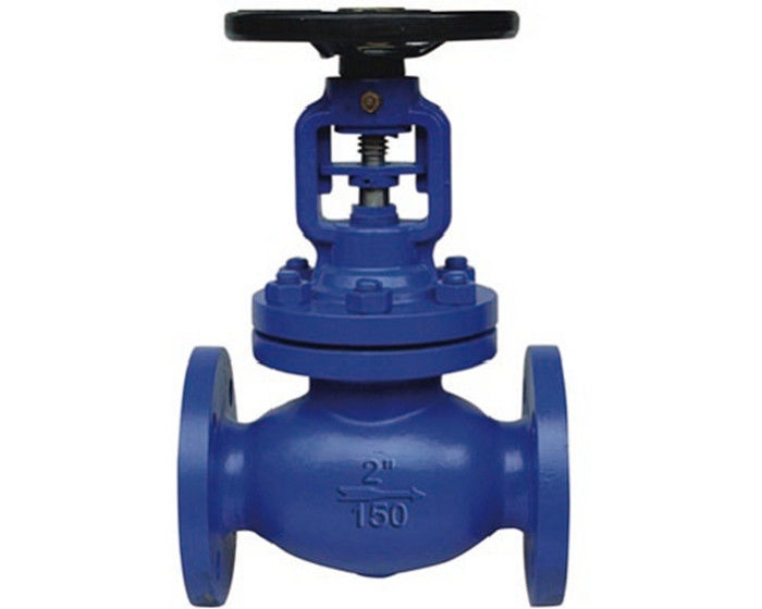ANSI Metal Seat Bellow Rising Stem Globe Valve Flexible Graphite Stellite Seat & Plug