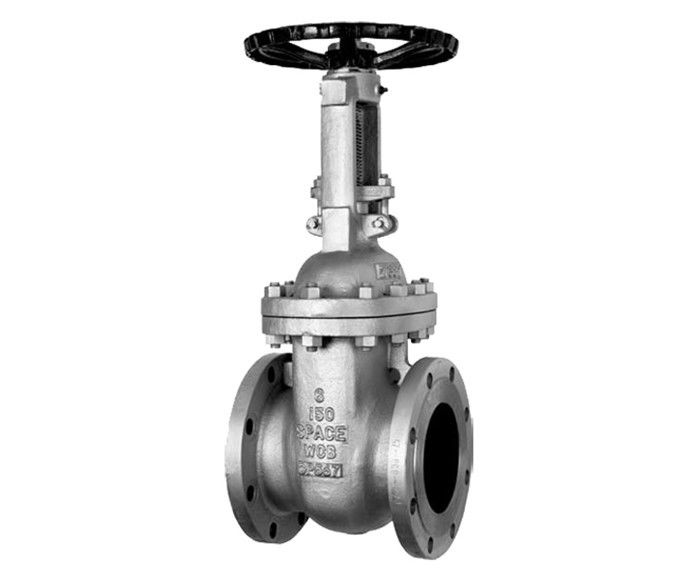 Flexible Wedge API600 Gate Valves Rising Stem Gear Handwheel Metal Seated